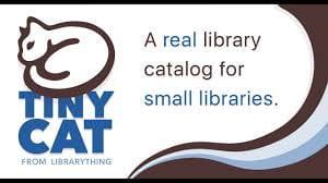TamaraReadsBooks TinyCat Library